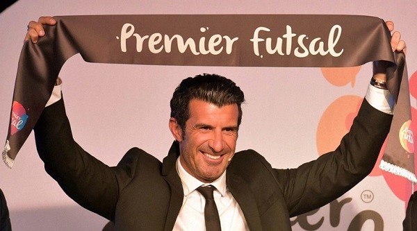 First ever Futsal League in India appoint Luis Figo as President