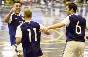 Scotland win their first home futsal international