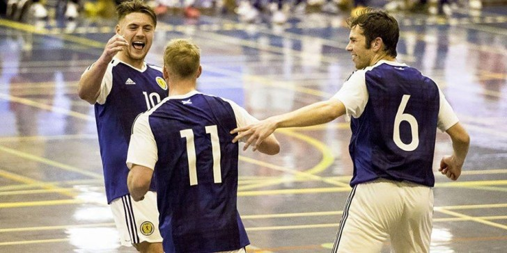 Scotland win their first home futsal international