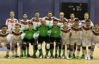 Germany's first official futsal match will be against England