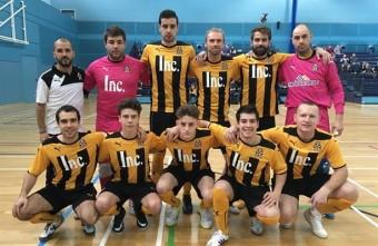 Former Manchester United player Luke Chadwick haul helps Cambridge United through to FA National Futsal League final