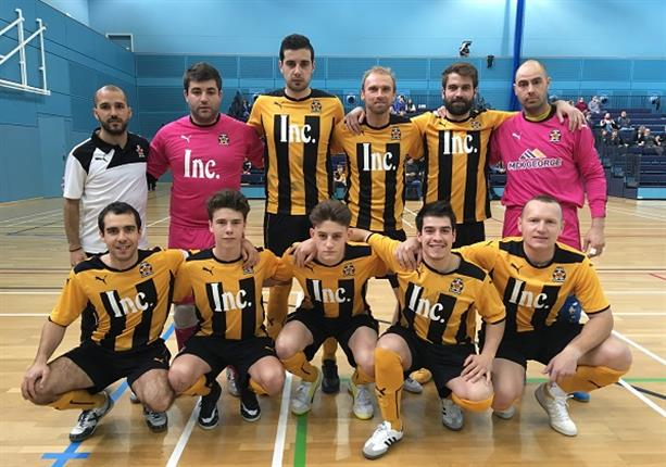 Former Manchester United player Luke Chadwick haul helps Cambridge United through to FA National Futsal League final