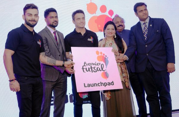 India's Premier Futsal League launching this year sign Brazilian Futsal legend Falcao