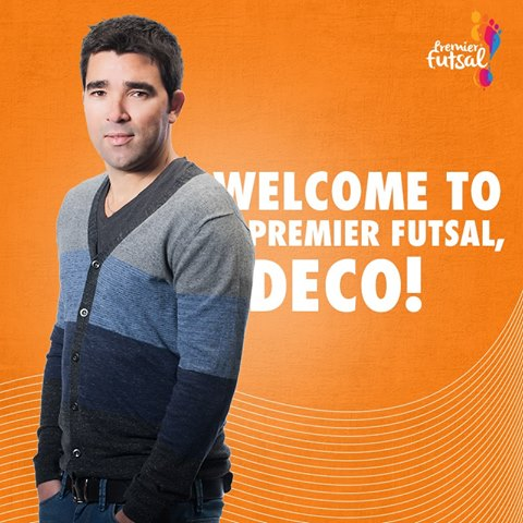 Premier Futsal announced Deco signing and All India Football Federation considering legal action
