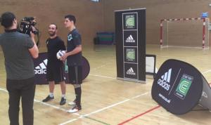 Futsal is growing all around the world, a fact that cannot be ignored. And now, a global leader in youth development, Coerver Coaching are launching a Futsal program. This kind of recognition and investment is another huge step for Futsal and will further enhance the sports credibility and help to increase awareness of the sport globally. Ricardinho 2016 World Player of Year & Carlos Ortiz Capitan of Spain, European Champions & one of next World Cup favorites along with Coerver Co-Founder Alfred Galustian are pictured below launching the Coerver Futsal program.