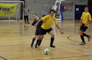Over 800 young players involved in New Zealand Football National Youth Futsal Championships