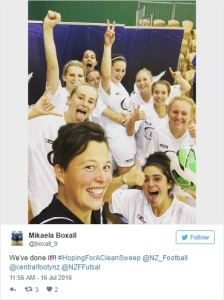 New Zealand Women's futsal to the fore