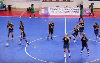 2016 U17 Women's UEFA Youth Futsal Development Tournament, Sverige - Portugal