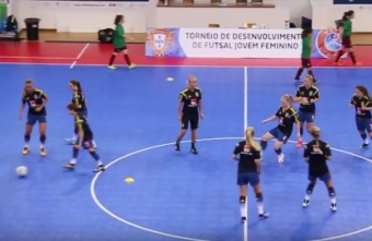 U17 Women's UEFA Youth Futsal Development Tournament, Sweden - Portugal