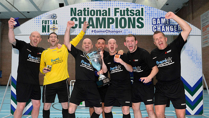 Foyle Futsal Club crowned Northern Ireland Futsal champions