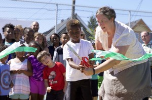 Portland Timbers, Operation Pitch Invasion unveil new futsal court in the U.S.A