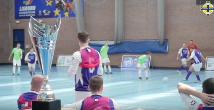 The Irish FA Futsal International Cup in partnership with Futsal Focus