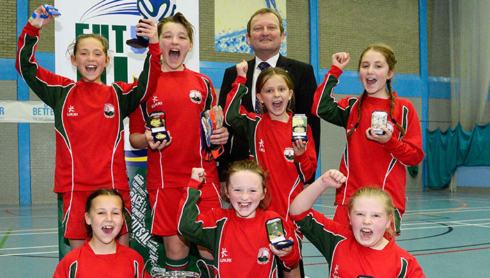 Northern Ireland's Inaugural Female Domestic Futsal League