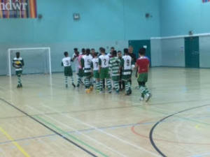Brickfield kicked off their first season in the Welsh National Futsal League