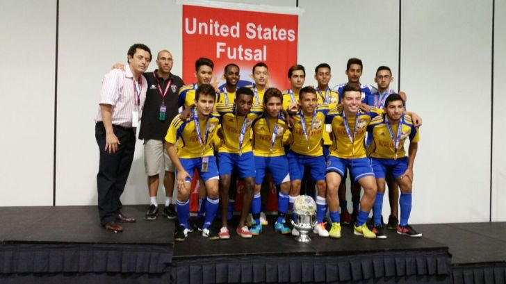 From English Futsal to coaching Futsal in the United States of America