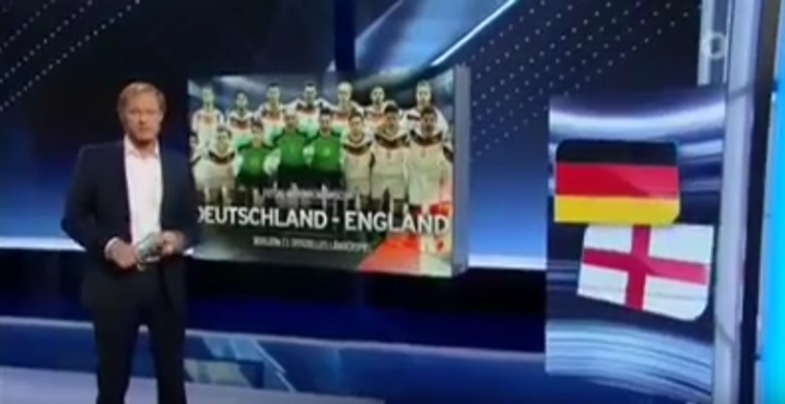 Germany's first ever official international futsal match