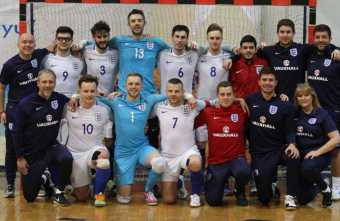 England land bronze with victory over turkey in IBSA European Futsal Championships