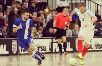 England Futsal International Stuart Cook discusses Euros and English Futsal