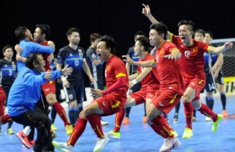 FIFA praised Vietnam for the Futsal and Football development success