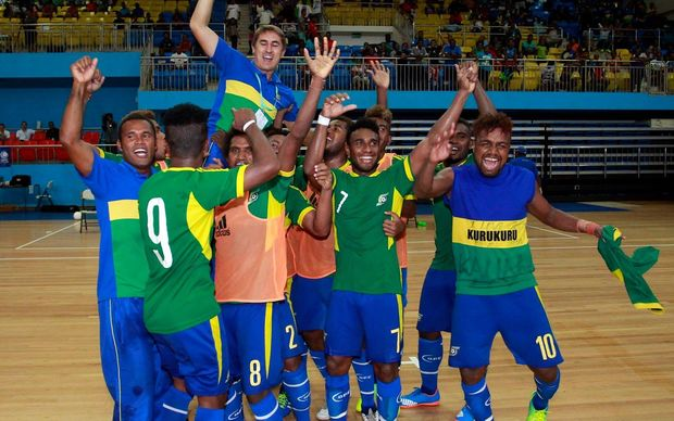 Futsal bringing hope to the people of the Solomon Islands