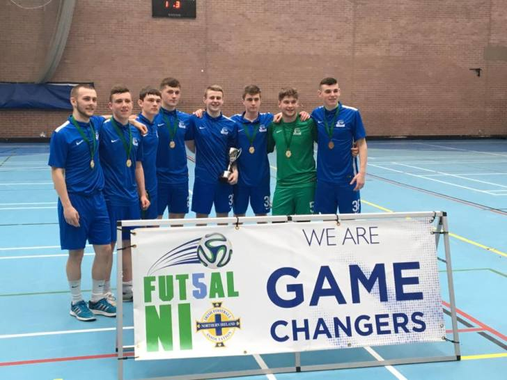 College Futsal and grass roots Futsal growing in Northern Ireland