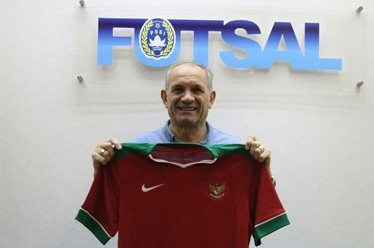Vic Herman appointed Head Coach of the Indonesian National Futsal team