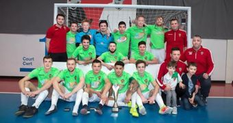 Wrexham win the Welsh League and will play under Wrexham AFC colours in the UEFA Futsal Cup