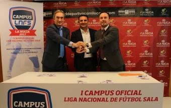 The LNFS presents in La Nucía its I Official Campus