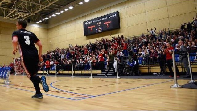 900 students watch Northumbria defeat Newcastle in the Annual Stan Carlvert Cup