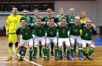Former Cliftonville player Ciaran Donaghy scores to secure Northern Ireland's first international victory