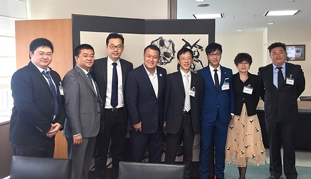 Delegation of Chinese Football Association visits JFA and F-League