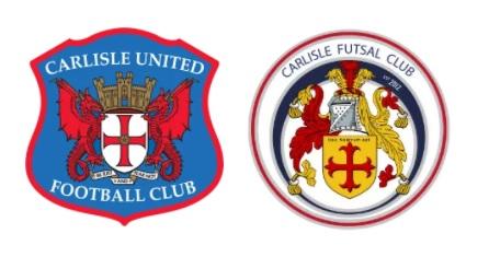 Carlisle United and Carlisle Futsal Club foundation phrase partners