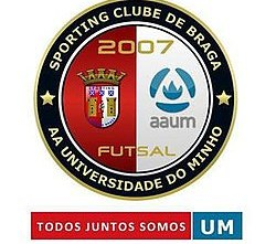 SC Braga/AAUM will replace Benfica at Futsal Business Conference