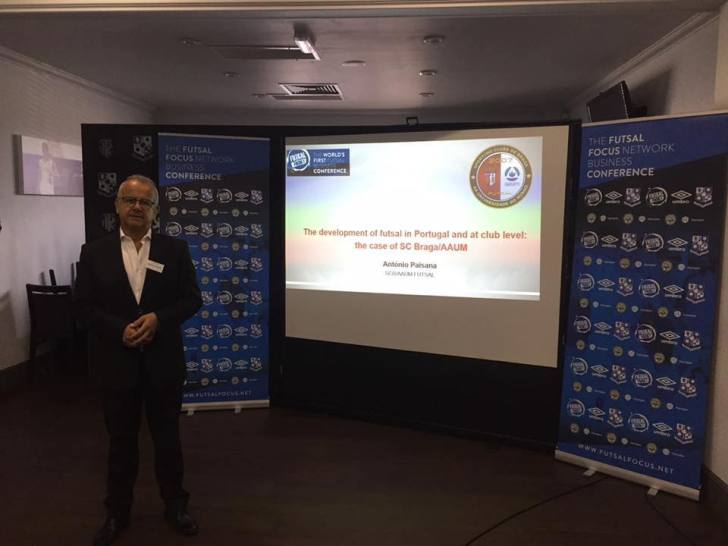 Presentation: Futsal Club development, Antonio Paisana Sporting Clube de Braga