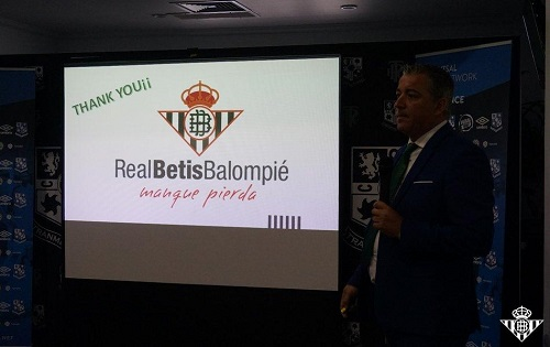 Presentation: Real Betis Director of Futsal Pablo Vilches
