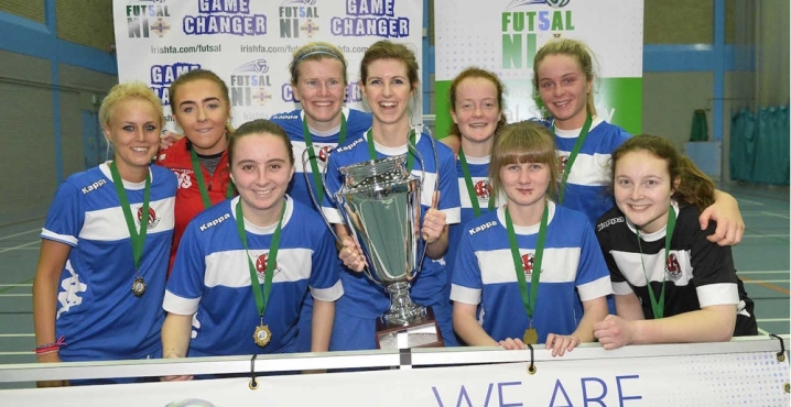 Women's Futsal league launching in Northern Ireland with plans for national team