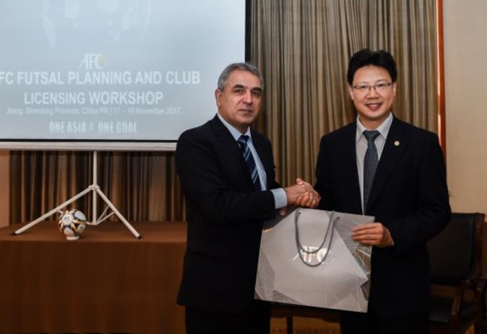 AFC visit China for Futsal Club Licensing System