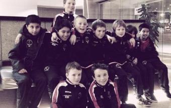 Oxford City Lions and Carlisle Futsal Club celebrate player progression