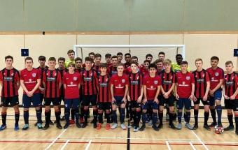 England start preparations for the UEFA Under-19 Futsal Championship