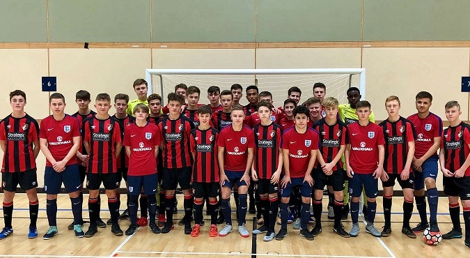 England start preparations for the UEFA Under-19 Futsal Championship
