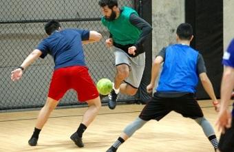 Major League Soccer Portland Timbers players using Futsal to stay sharp during off season