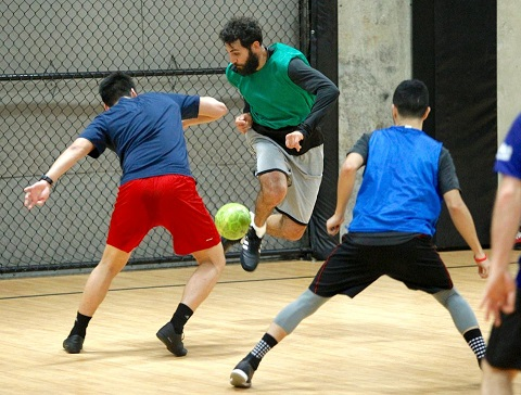 Major League Soccer Portland Timbers players using Futsal to stay sharp during off season
