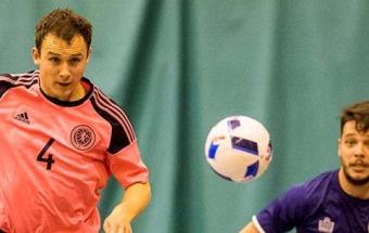 Scott Chaplain takes charge of Scotland's Futsal national team