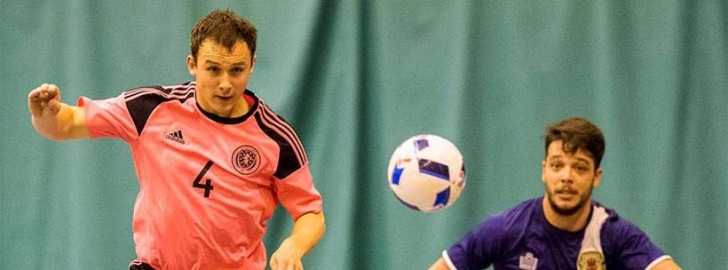 Scott Chaplain takes charge of Scotland's Futsal national team