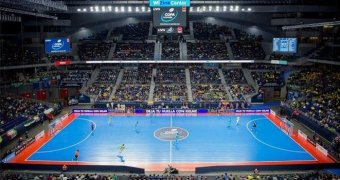 A record 12,632 fans watched Jaén Paraíso Interior Fútbol Sala win the Spanish Futsal Cup
