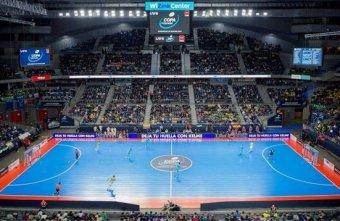 A record 12,632 fans watched Jaén Paraíso Interior Fútbol Sala win the Spanish Futsal Cup