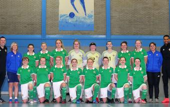 Historic first for Northern Ireland women's futsal team and their development