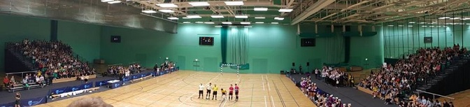Futsal success in Nottingham with over 1000 attending Varsity Final 2018
