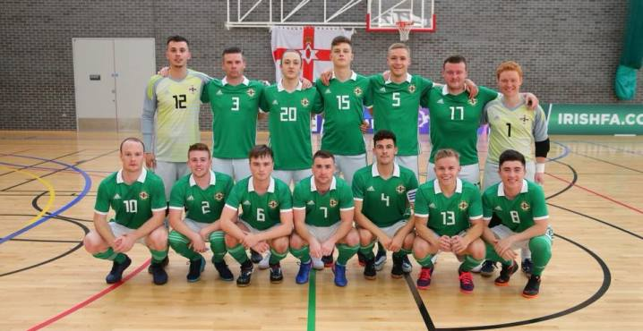 Northern Ireland national futsal team is a united group, full of character and heart!