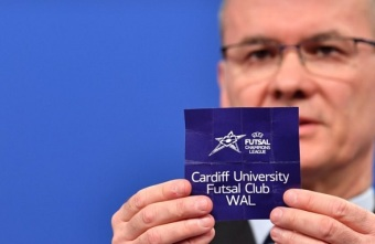 A historic day for European club Futsal with the first UEFA Futsal Champions League draw